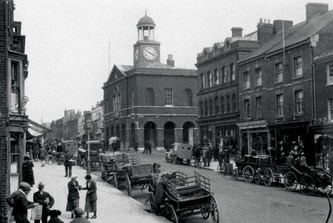 Bridport street scene