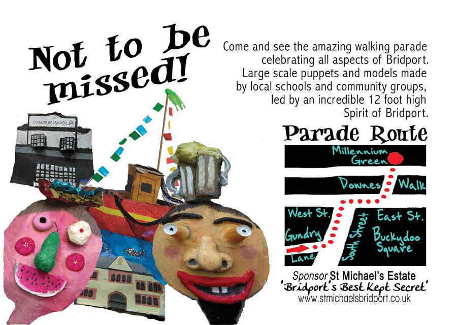 Spirit of Bridport Puppet Parade