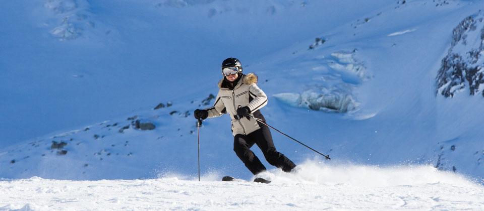 Ski guiding in Meribel France with British ski instructors
