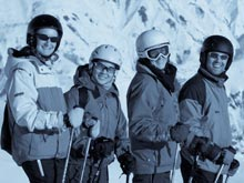 Ski lessons in Meribel, France with British instructors passionate about teaching
