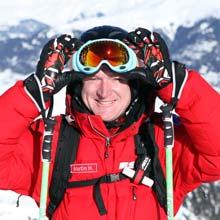 Martin Hemsley, ski instructor with MH2ski in Meribel, France