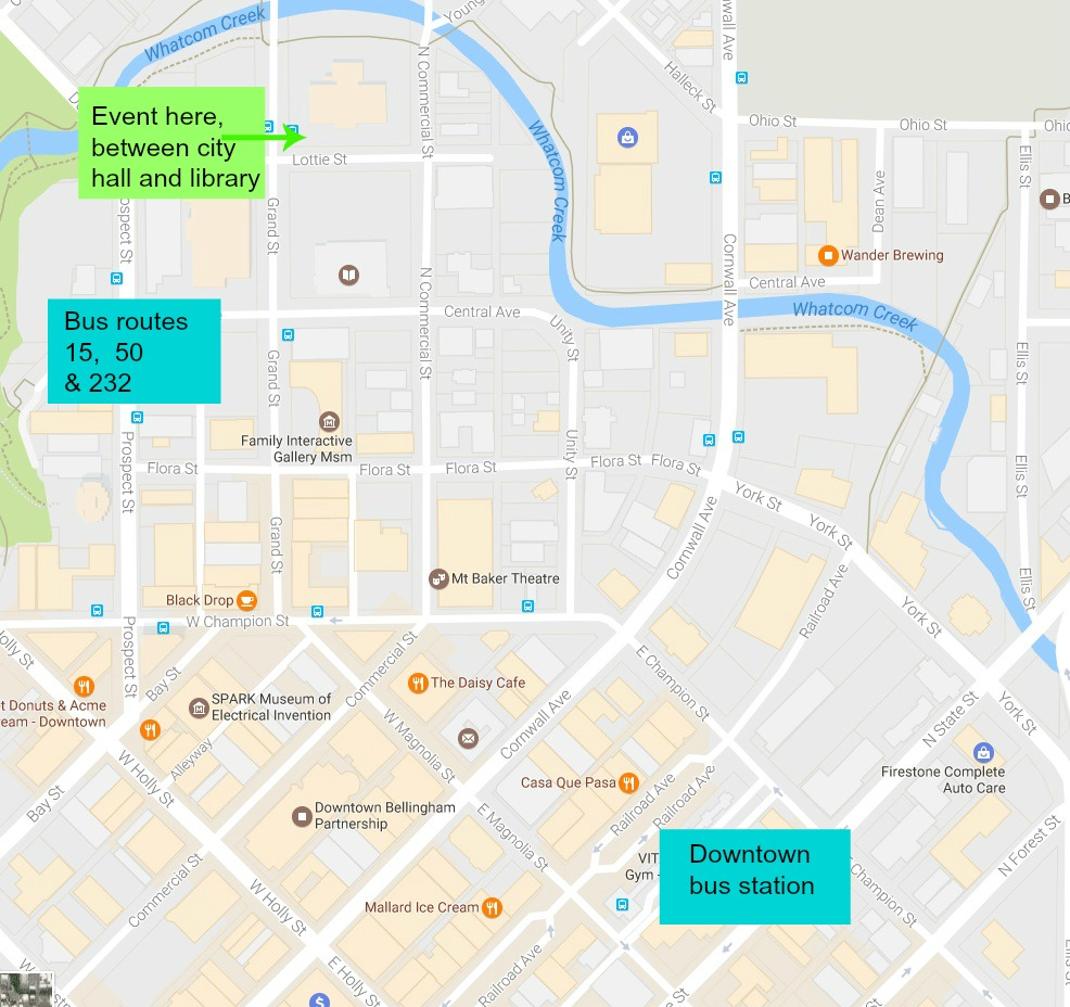 Proposed Bus Route Would Connect Ferndale With Nooksack Everson Wta Contact Map