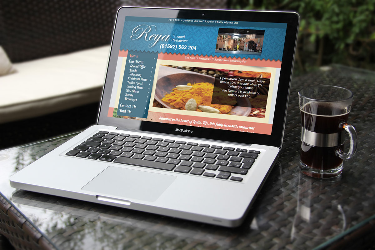 Restaurant_ Website_Design - Rushden