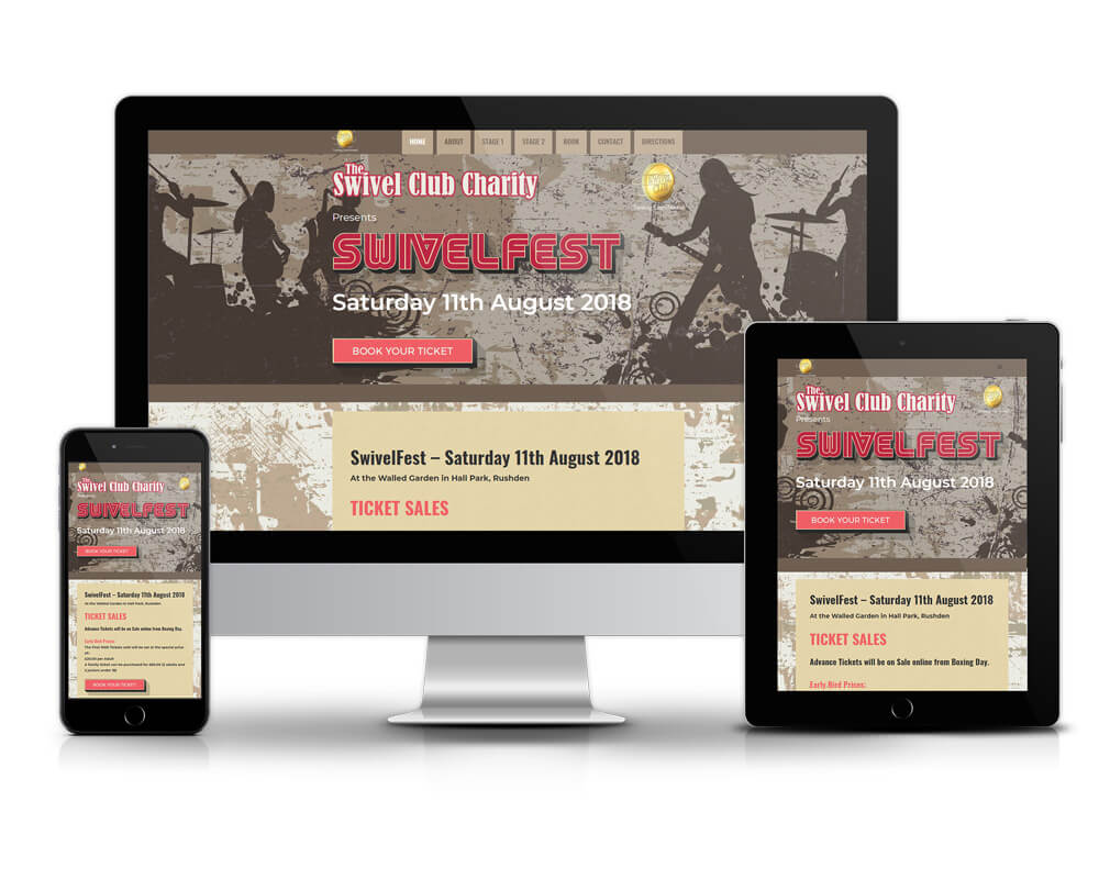Rushden Web site Design