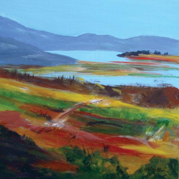 Scottish Highlands by Jill Preston