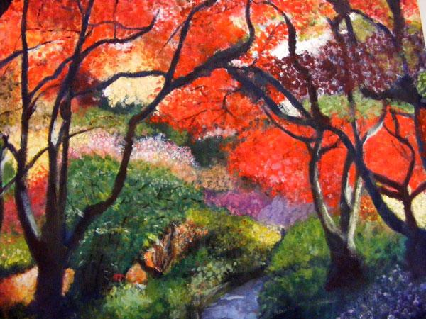 Painting by Jem Hodder