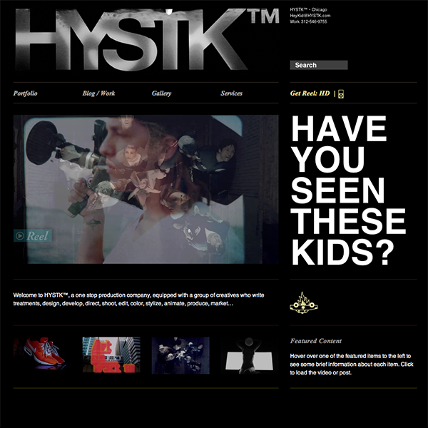Have You Seen These Kids? - Identity & Interface Design