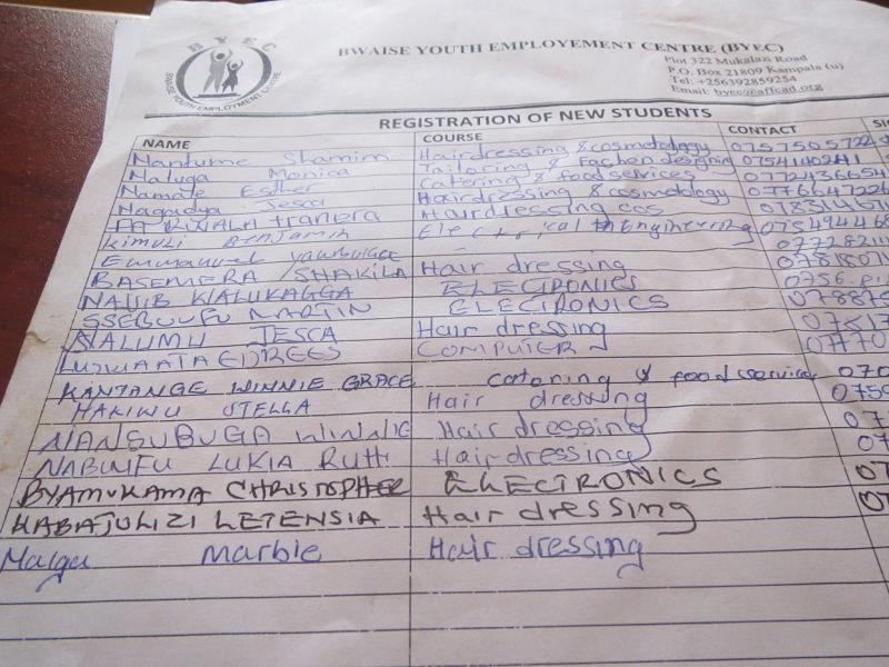 Registration at BYEC