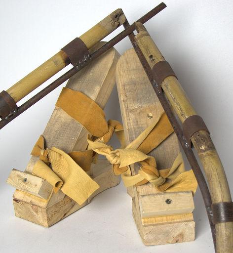 Quadruped limb study sculpture