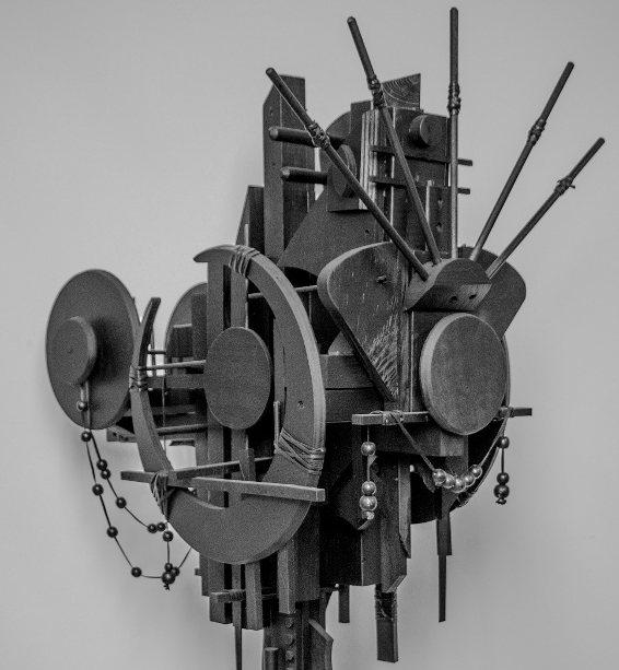 Moon Cradle Sculpture