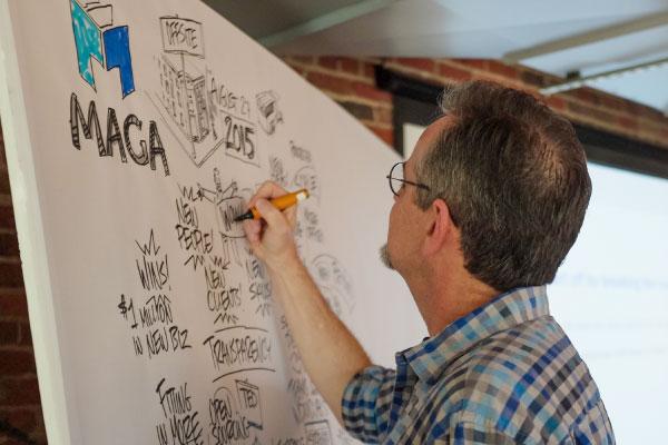 Jim Nuttle Graphic Facilitation Session