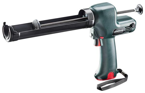 Rokas elektroinstruments bezvadu akumulatora blīvēšanas/līmes masu pistole  GIN 7-310 F