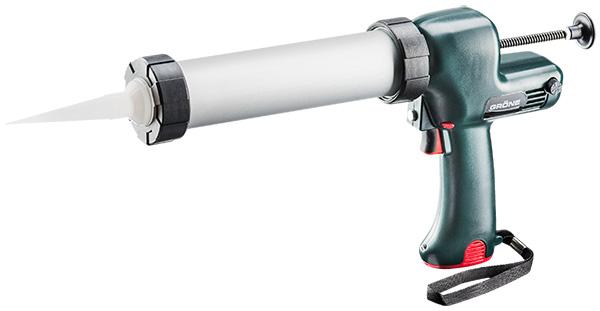Rokas elektroinstruments bezvadu akumulatora blīvēšanas/līmes masu pistole  GIN 7-310 T