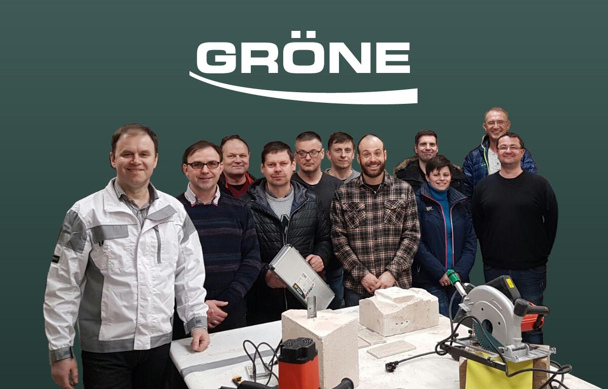"""Gröne  elektroinstrumentu, darbarīku, krāsošanas iekārtu pārstāvniecības kolektīvs Baltijas valstīs – SIA """"HARDEX Baltic"""""""