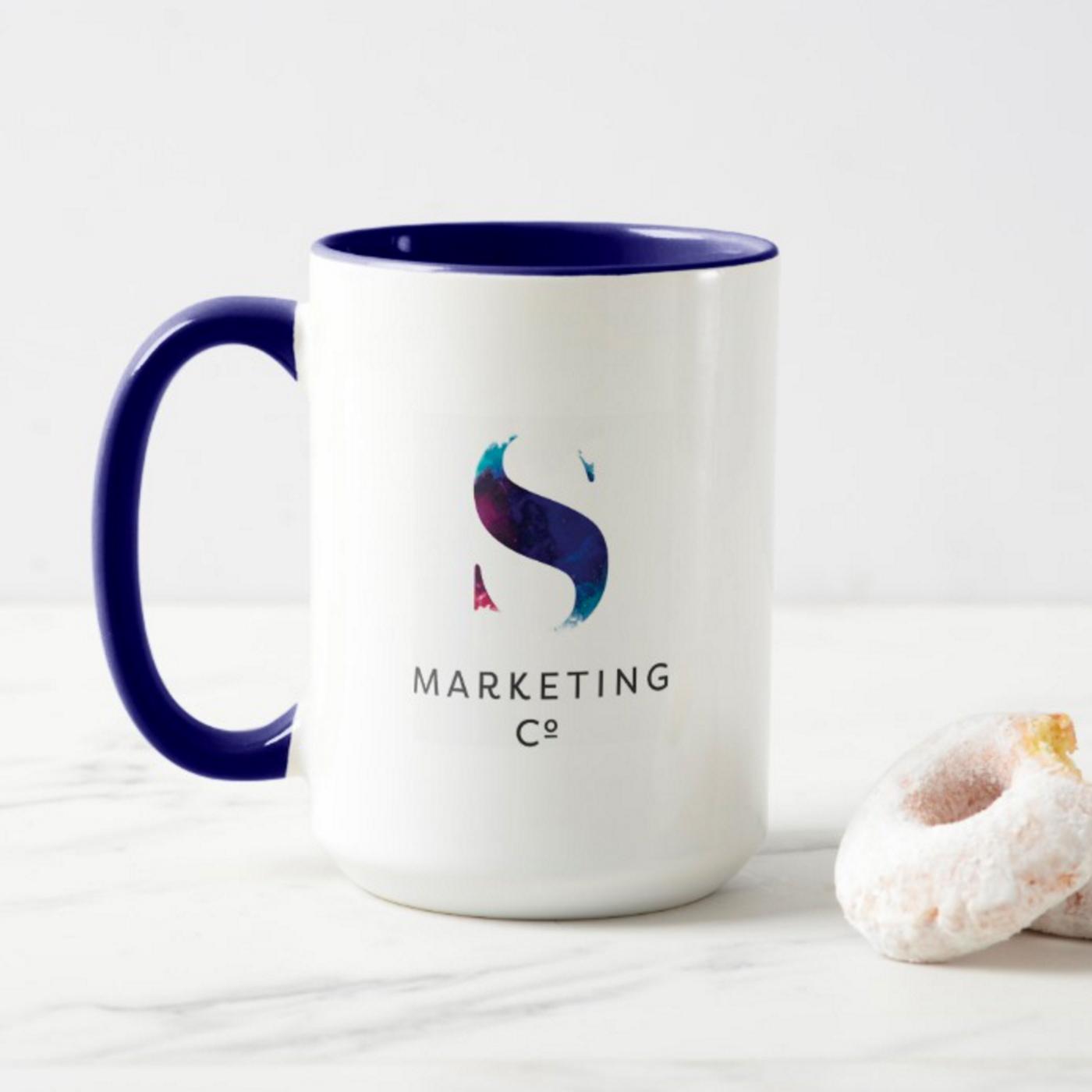 Flipside Creative, Custom Mug Design for S Marketing Co