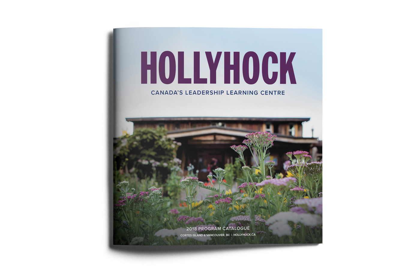 Layout design for Hollyhock, a leadership and lifelong learning centre on Cortes Island, BC.