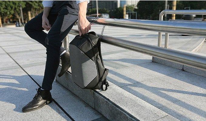 рюкзак с системой антивор