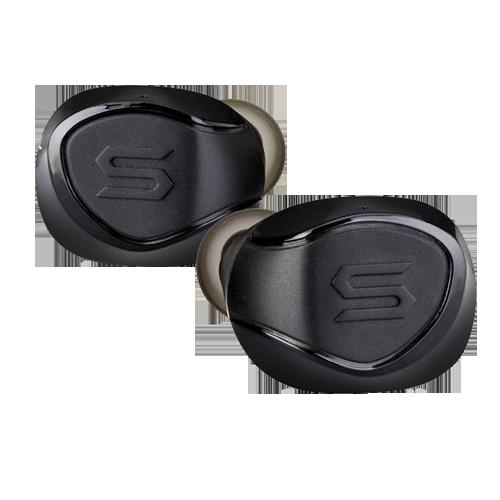 Беспроводные наушники X-SHOCK с защитой от воды и светодиодной подсветкой, разработаны специально для занятий спортом.