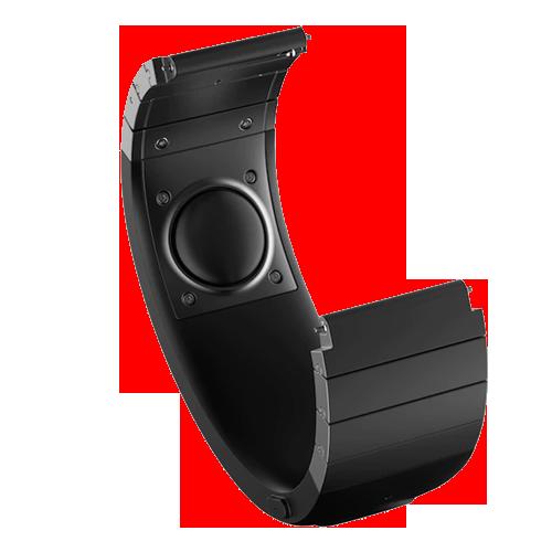 Sgnl - инновационное устройство, передающее звук посредством вибрации на кончик пальца. Подключите его к смартфону и вести диалоги вы сможете даже в самых шумных помещениях, всего лишь приложив палец к уху. Sgnl берет на себя функции фитнес браслета и ремешка для обычных или умных часов. Узнать о вызове и ответить на него можно не доставая телефон из сумки или кармана.