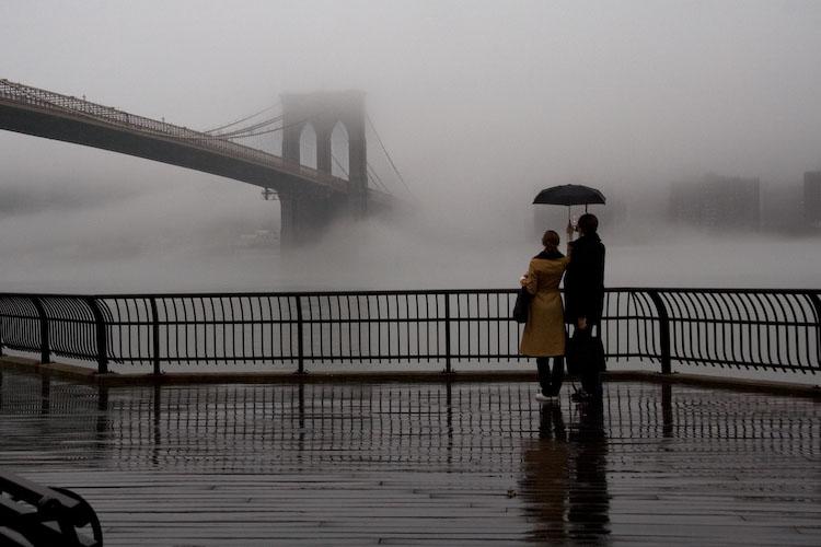 Brooklyn Bridge in the Fog. Copyright Martin Rigby