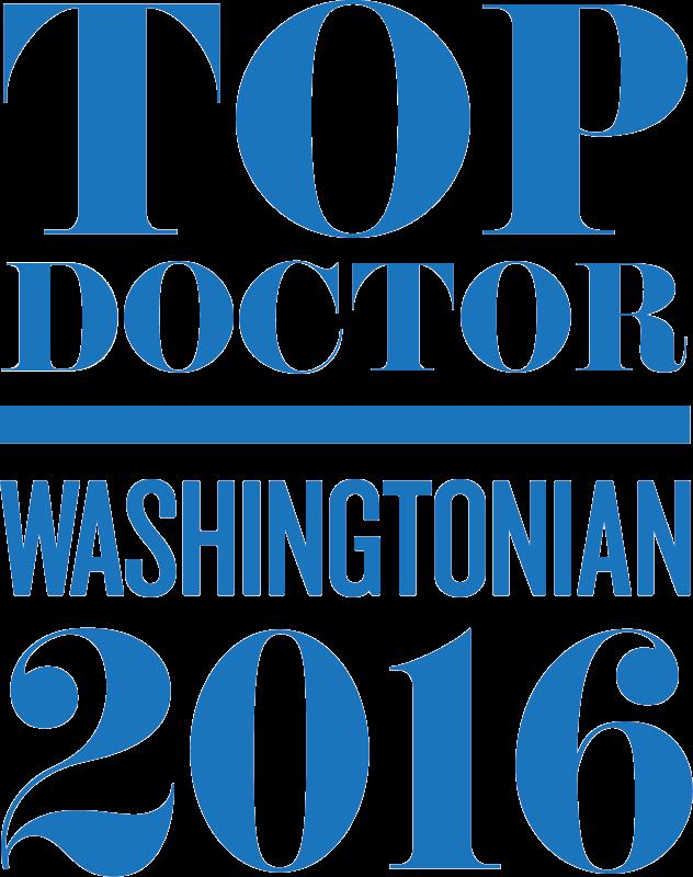 Washingtonian Top Doctor 2016