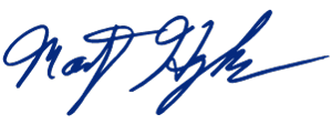 Marty Hughes Signature