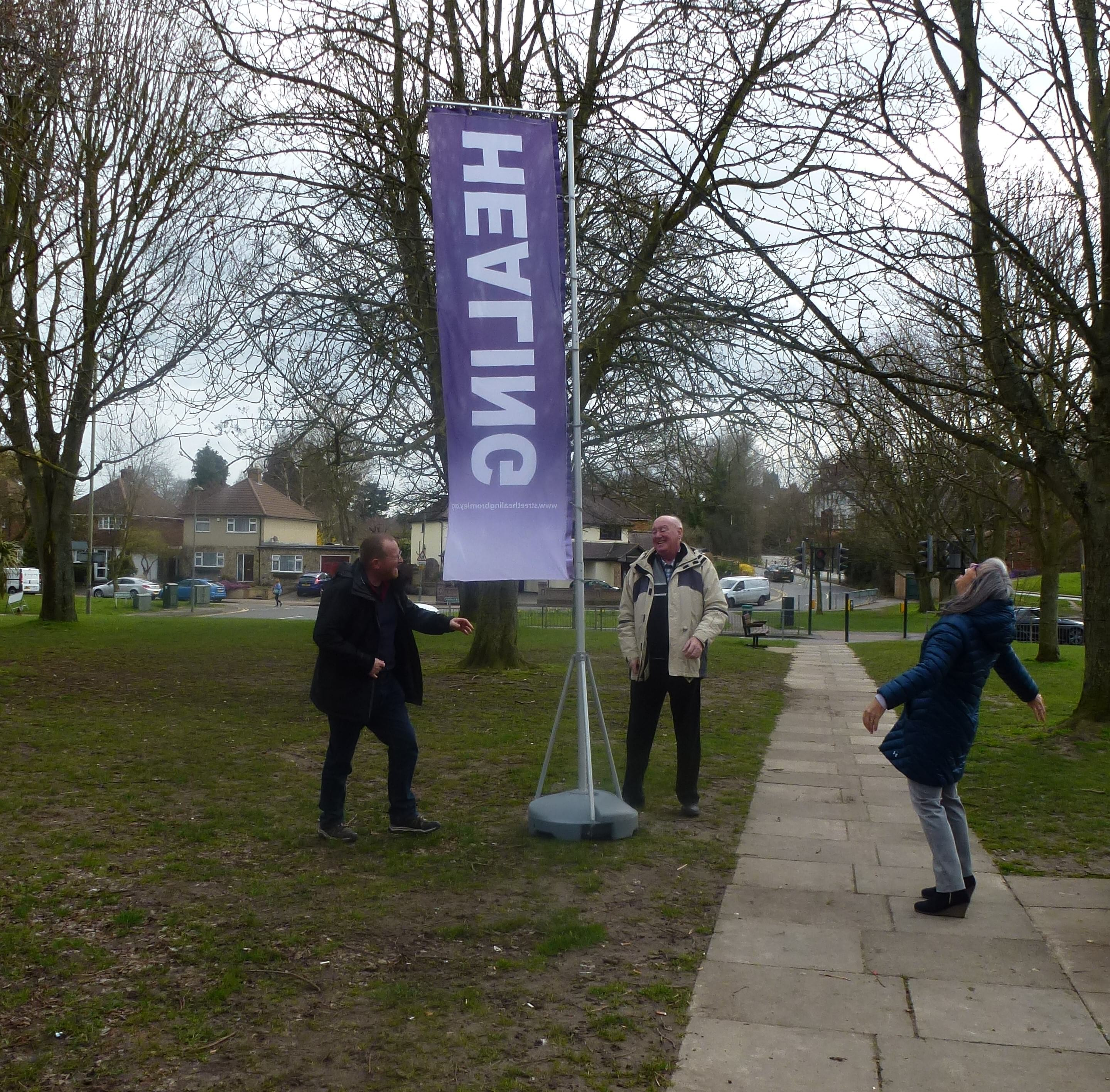 Healing on the Streets (HOTS) in Green Street Green