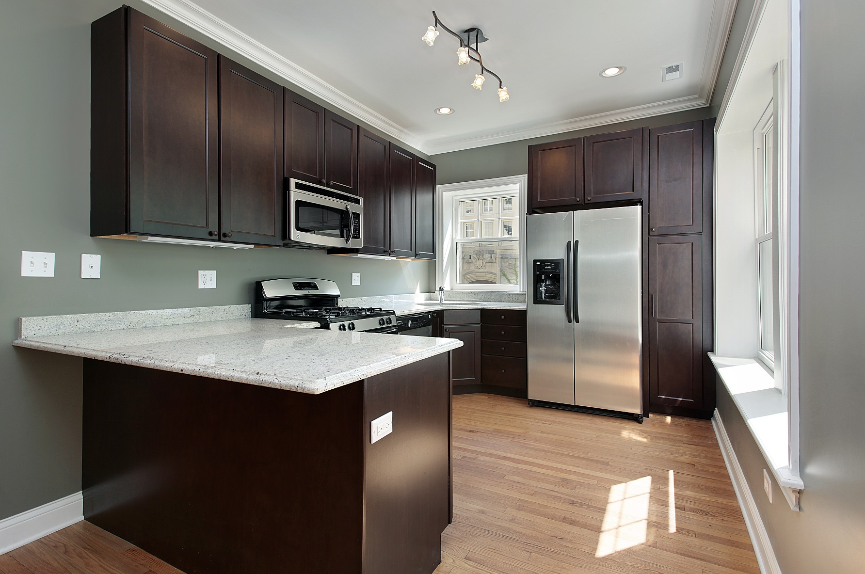 Modern Kitchen Mosier Construction