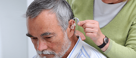 Tinnitus and hearing loss in patients