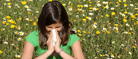 Pollen allergies can be miserable
