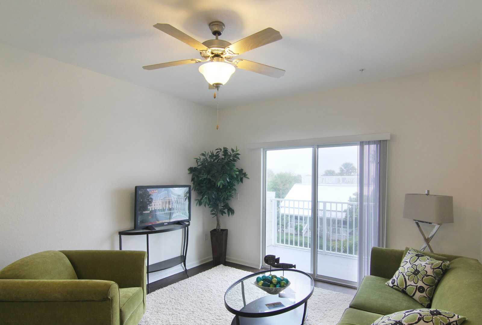 Surfside Apartment Interior Balcony