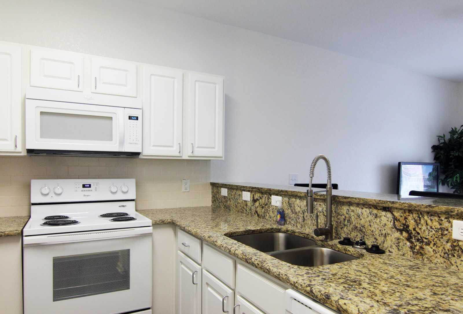 Surfside Apartment Interior Kitchen