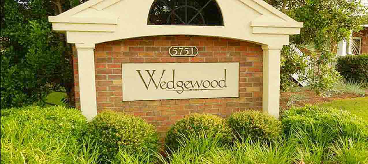 Wedgewood sign