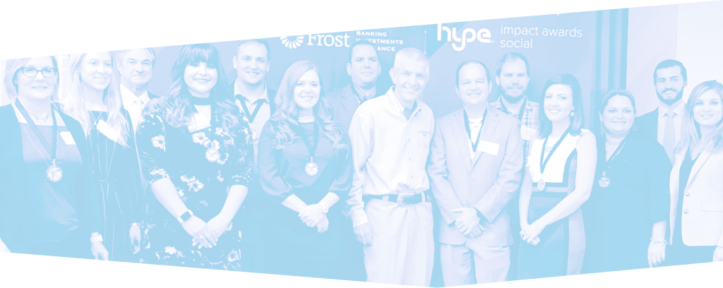 HYPE group pictured with Mattress Mack