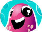 animated imessage sticker the squid