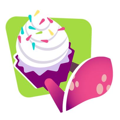 imessage sticker cupcake
