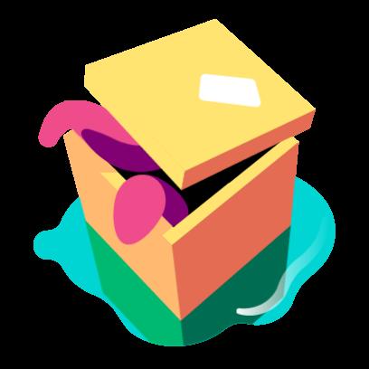 imessage sticker pack box