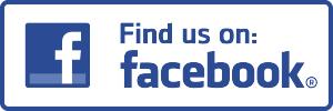 Find us on Facebook logo.