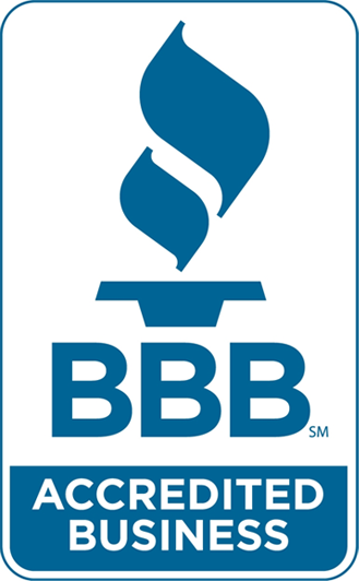 Better Business Bureau logo.