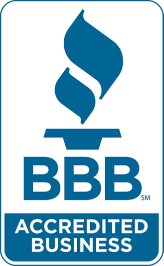 Better Business Bureau logo.