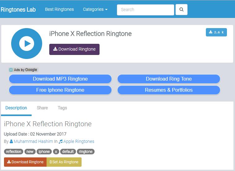 apple ios ringtone download