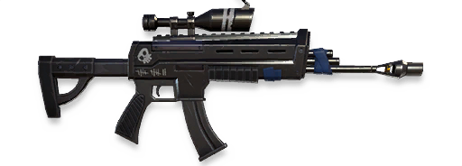 Assault Rifle (Scoped)